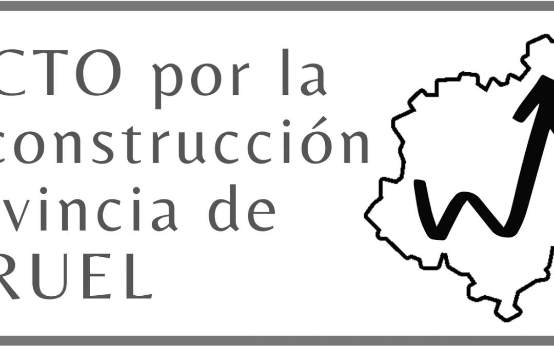 ESTUDIO GLOBAL SE UNE AL PACTO POR LA RECONSTRUCCIÓN DE TERUEL